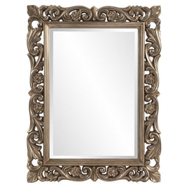 Chateau Mirror Bathroom Mirrors Howard Elliott Antique French Pewter