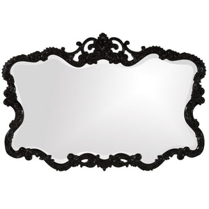 Talida Black Mirror Traditional Mirrors Howard Elliott