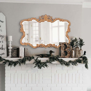 Talida Gold Mirror Ornate Mirrors Howard Elliott