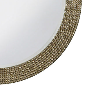 Petrini Round Mirror Contemporary Mirrors Howard Elliott