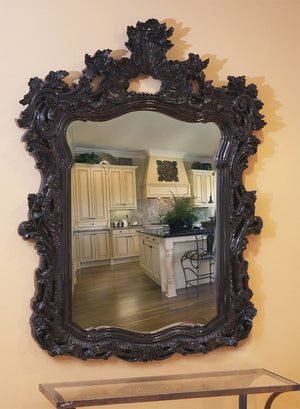"Berry Ornate Mirror 42""x56"" Ornate Mirrors Howard Elliott"