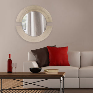Orbit Silver Leaf Mirror Contemporary Mirrors Howard Elliott