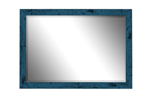 Dorian Vintage Blue Mirror Traditional Mirrors Hitchcock Butterfield