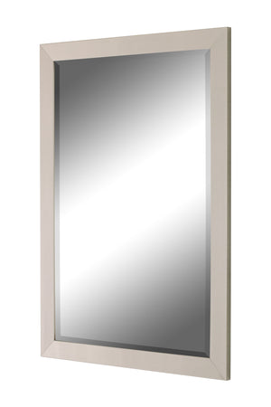 Europa Contempo Brushed Satin Nickel Mirror Contemporary Mirrors Hitchcock Butterfield