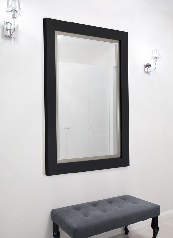 Nuevo II Metallic Satin Black Mirror