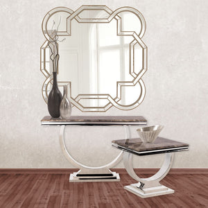 "Aleena Mirror 48""x48""x 1.25"" Decorative Mirrors Howard Elliott"