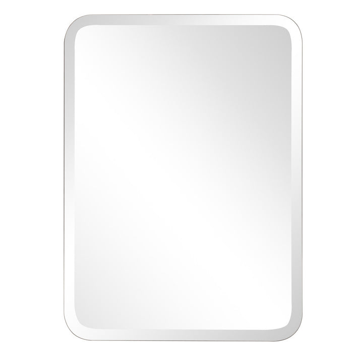 Frameless Oblong Mirror