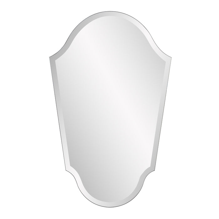 Frameless Arched Vanity Mirror