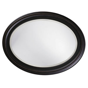 George Oil Rubbed Bronze Oval Mirror Bronze Mirrors Howard Elliott