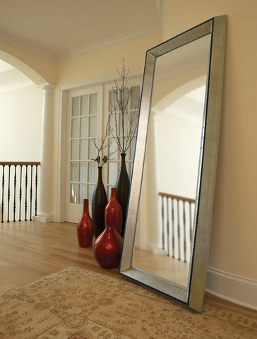 Arlet Art Deco Leaner Mirror Contemporary Mirrors Howard Elliott