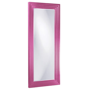 Elano Leaner Mirrors Large Mirrors and Leaner Mirrors Howard Elliott Glossy Hot Pink