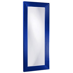 Elano Leaner Mirrors Large Mirrors and Leaner Mirrors Howard Elliott Glossy Royal Blue