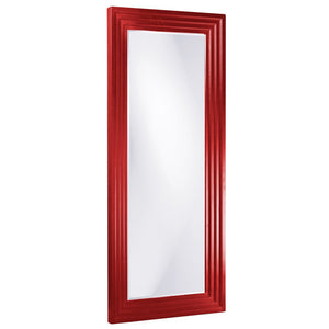 Elano Leaner Mirrors Large Mirrors and Leaner Mirrors Howard Elliott Glossy Red