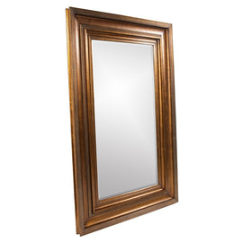 Baxter Antique Gold and Copper Mirror - Classy Mirrors
