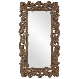Ennis Antique Copper Baroque Mirror - Classy Mirrors