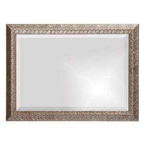 Malia Silver Leaf Mirror Bathroom Mirrors Howard Elliott