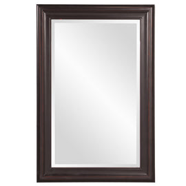 "George Oil Rubbed Rectangular Framed Mirror 24""x 36""x 1"" - Classy Mirrors"