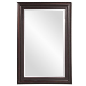 George Oil Rubbed Rectangular Framed Mirror Bronze Mirrors Howard Elliott