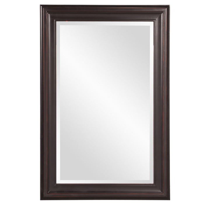 George Oil Rubbed Rectangular Framed Mirror