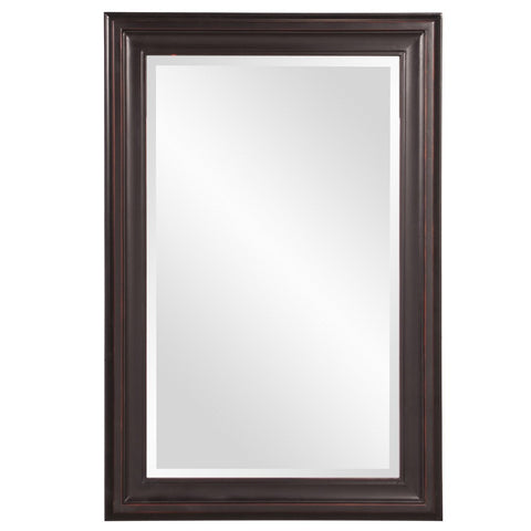 George Oil Rubbed Rectangular Framed Mirror 24x36x1 - Classy Mirrors