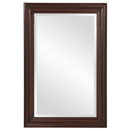 "George Chocolate Brown Mirror 24""x36""x1"" - Classy Mirrors"