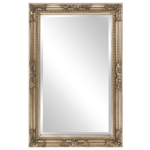 "Queen Ann Rectangular Mirror 24""x36""x1"" - Classy Mirrors"