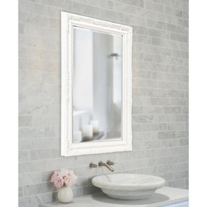 Queen Ann Rectangular Mirror 10 Color Choices Bathroom Mirrors Howard Elliott
