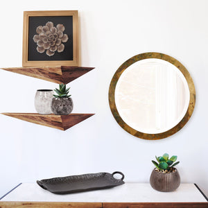 Camou Small Round Mirror Howard Elliott