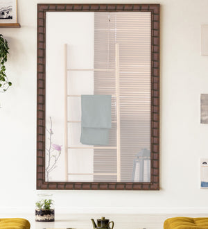 Dynasty Bamboo Mirror Transitional Wall Mirrors Hitchcock Butterfield