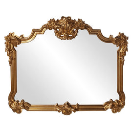 Longford Traditional Mirror Antique Mirrors Howard Elliott Bright Gold Leaf