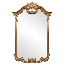 "Westport Ornate Gold Mirror 32""x51""x3"" - Classy Mirrors"