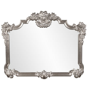 Tramore Bright Silver Ornate Buffet Mirror Antique Mirrors Howard Elliott