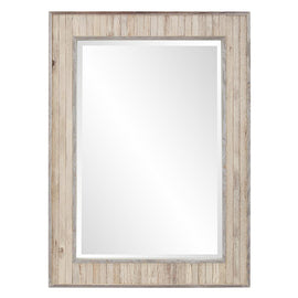 Sawyer Wood Plank Rectangle Mirror