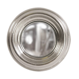 Sylvia Round Silver Convex Mirror Decorative Mirrors Howard Elliott