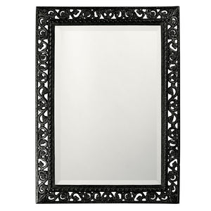 Compton Mirror Traditional Mirrors Howard Elliott Glossy Black