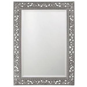 Compton Mirror Traditional Mirrors Howard Elliott Glossy Nickel