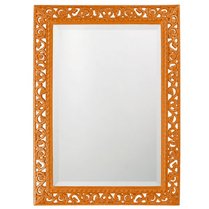 Compton Mirror Traditional Mirrors Howard Elliott Glossy Orange
