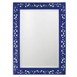 Compton Mirror Traditional Mirrors Howard Elliott Glossy Royal Blue