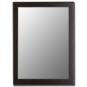 "Toulon Satin Black Mirror Traditional Mirrors Hitchcock Butterfield 26.2517.25"" x 35.25""""W x 36.25""H"