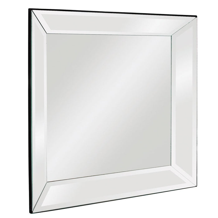 Vogue Mirrored Frame Mirror Square