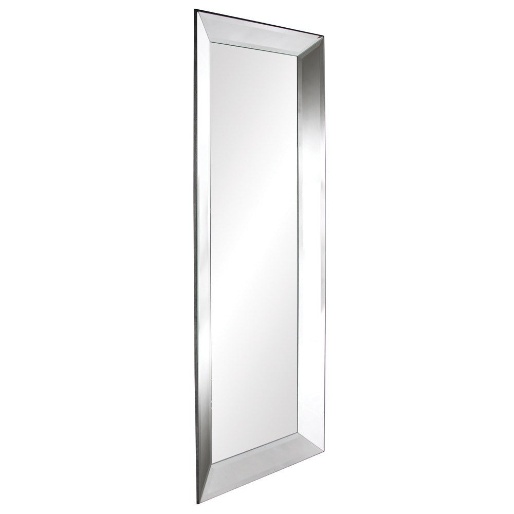 Vogue Large Mirrored Frame Mirror – Classy Mirrors