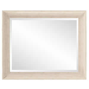 Parker White Rectangle Mirror White Mirrors Howard Elliott