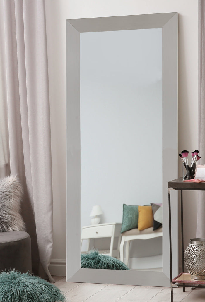 Urban Metro II Brushed Satin Nickel Mirror