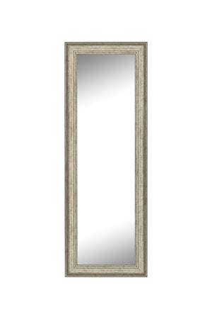 "Bolshoi Distressed Champagne Rose Mirror Silver Mirrors Hitchcock Butterfield 24.75"" x 60.75"""