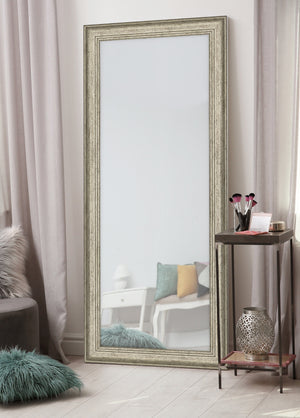 Bolshoi Distressed Champagne Rose Mirror Silver Mirrors Hitchcock Butterfield