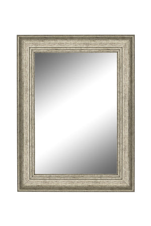 "Bolshoi Distressed Champagne Rose Mirror Silver Mirrors Hitchcock Butterfield 27.75"" x 37.75"""