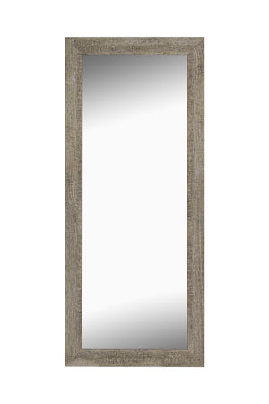 "Norwich Coastal Driftwood Mirror Bathroom Mirrors Hitchcock Butterfield 21.75"" x 57.75"""