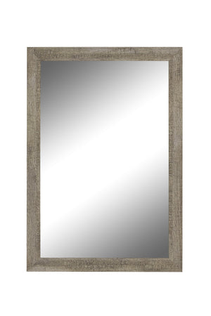 "Norwich Coastal Driftwood Mirror Bathroom Mirrors Hitchcock Butterfield 24.75"" x 34.75"""