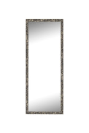 "Coalmine Antique Silver Mirror Contemporary Mirrors Hitchcock Butterfield 21.25"" x 57.25"""