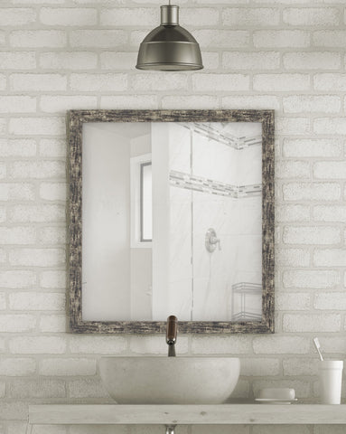 Coalmine Antique Silver Mirror Contemporary Mirrors Hitchcock Butterfield